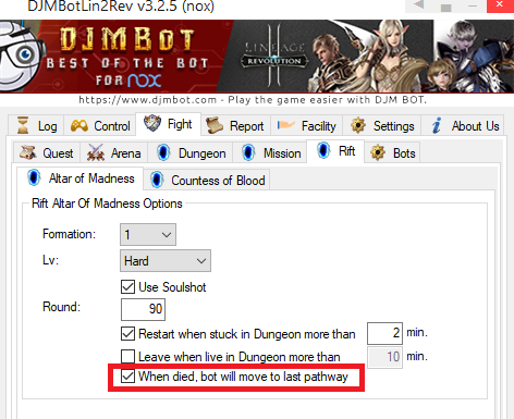 DJMBot - Bot SevenKnight, Lineage2 Revolution and Any Games
